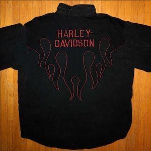 Harley-Davidson Denim Shirt